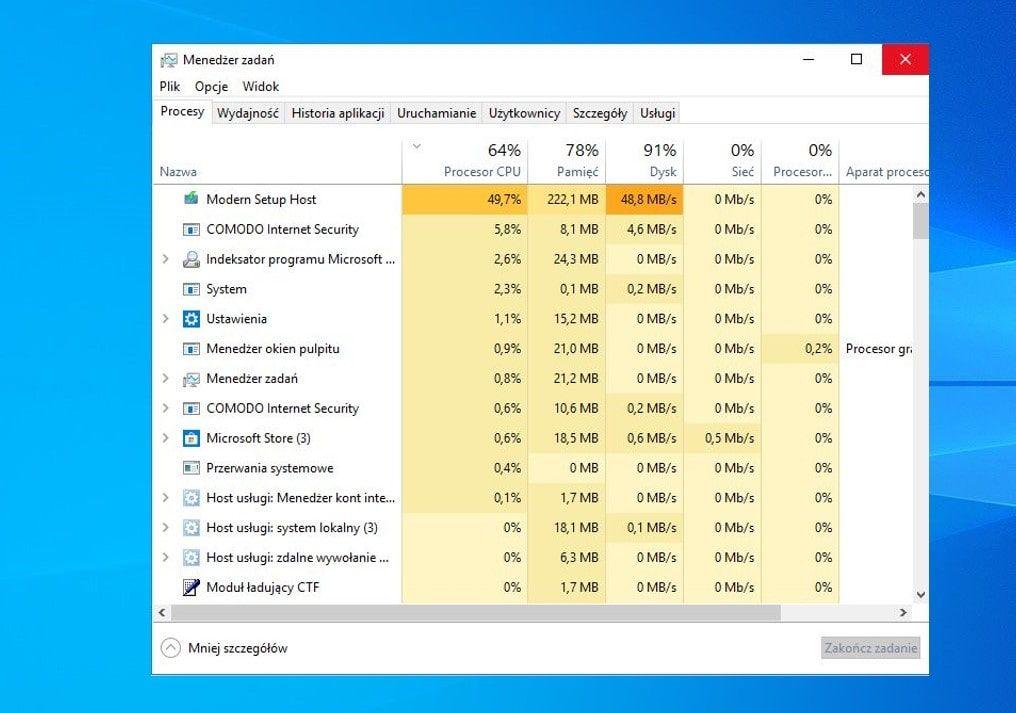 Solved Modern Setup Host High Cpu Usage In Windows 10 In 2020 Windows 10 Solving Windows System