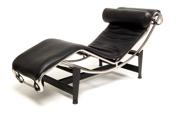 The original La Corbusier Chaise Longue / Lounge. Sure looks comfy on chaise recliner chair, chaise furniture, chaise sofa sleeper,