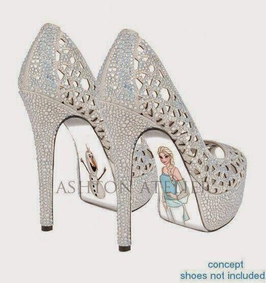 838ead037 Sapatos Louboutin - Princesas Disney | Debutantes - Festa 15 anos ...