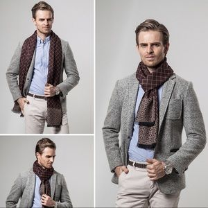 High Quality Cashmere Mens Scarf 100000655 #fashion #clothing #shoes #accessories #men #mensclothing #scarves #mensscarves