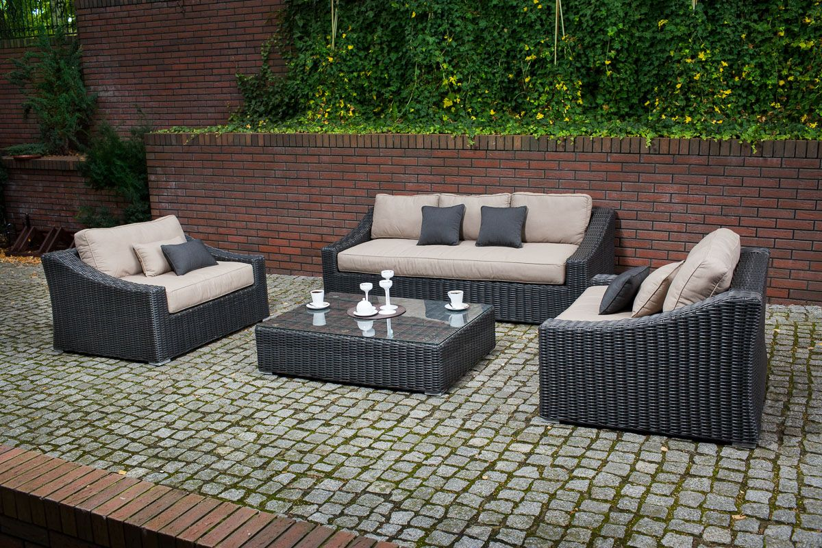 Tuscan Couch Set Includes Couch 87 X41 X28 2 Large Chairs 50 X41 X28 Ottoman With Glass And Cushion 50 Outdoor Furniture Sets Outdoor Patio Set Couch Set