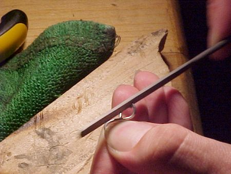 making a classic Celtic Bracelet by Dave Wilson of Celtic Dreams ...