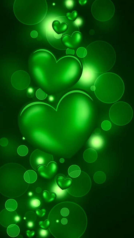 Wallpaper Green Wallpaper Android Wallpaper Heart Wallpaper