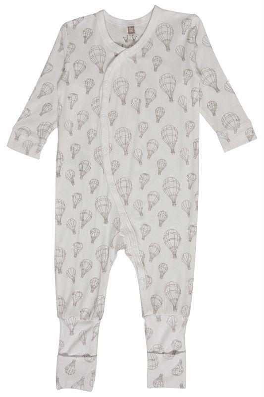 pyjamas med fot baby
