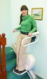 Meditek Stand and Perch Stairlift