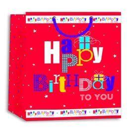 Gift Bag Happy Birthday Large Wraptastic Amazon