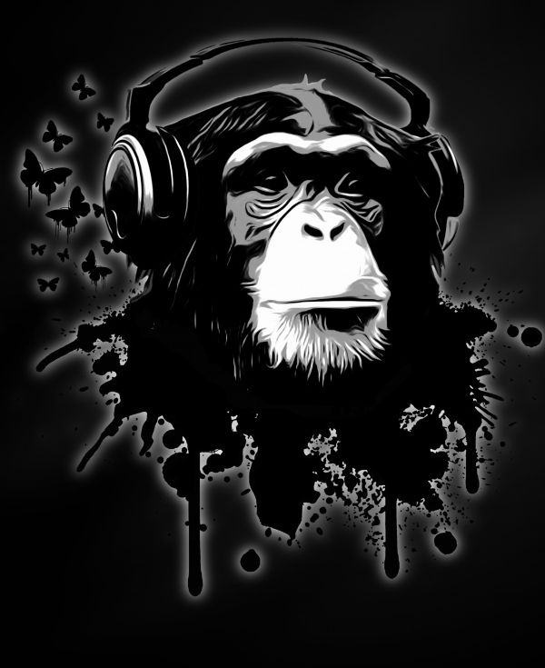 """Monkey Business"" by Nicklas Gustafsson on Displate # ..."