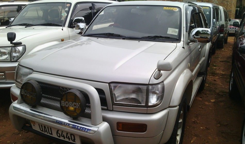 A Toyota Surf UAU on sale is a well maintained car at 26M UGX #Cars ...