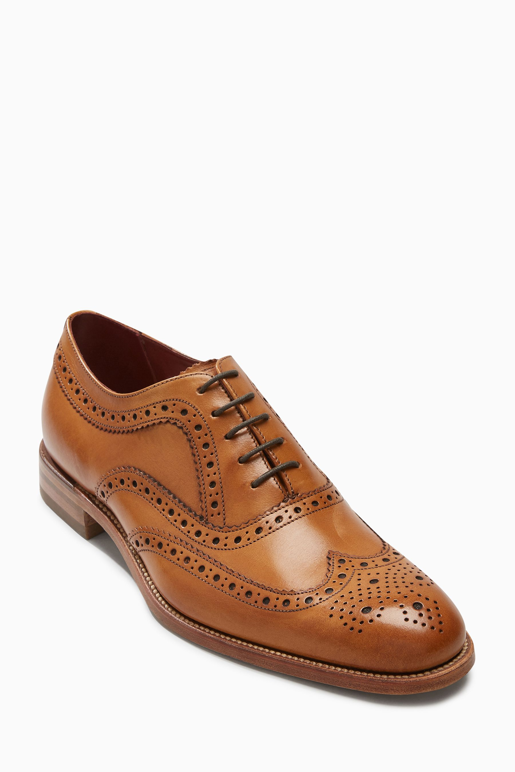 6950bcbf Mens Loake Fearnley Brogue Shoe - Red | Shoes | Shoes, Dress Shoes ...