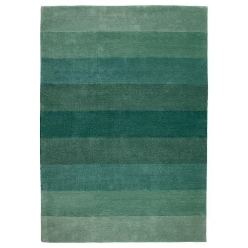 tapis poils ras n debo fait main vert en 2019 kdo. Black Bedroom Furniture Sets. Home Design Ideas