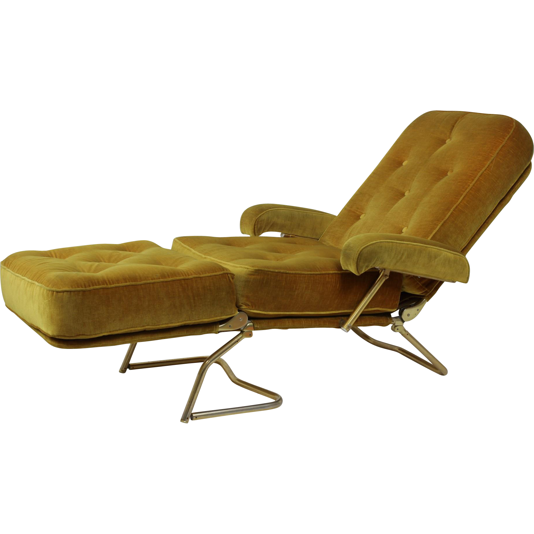 Groovy French Designer Chaise Lounge Found At Rubylane Com Gmtry Best Dining Table And Chair Ideas Images Gmtryco