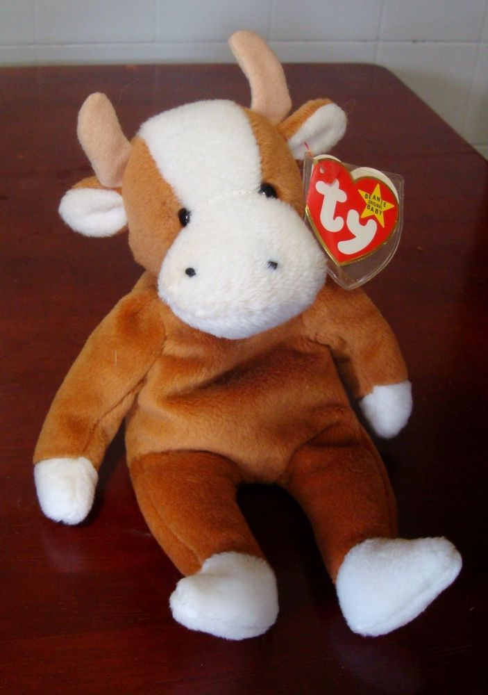 Ty Beanie Baby Bessie the Cow  Ty NEW LOW PRICE!  29.99 Free Shipping! 7112404ddbe