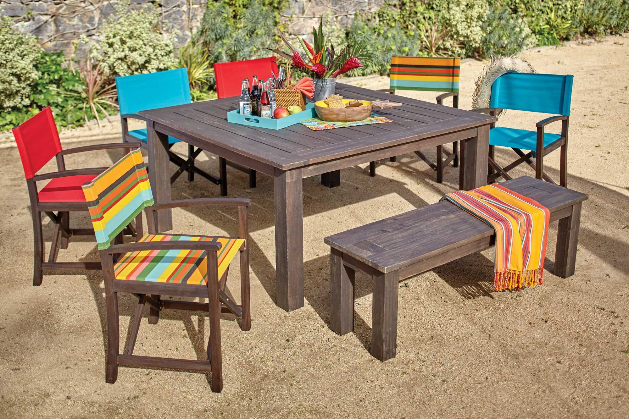 At World Market we re known for our attractive outdoor dining