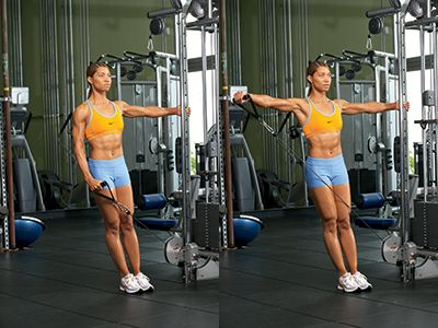 One-arm Cable Lateral Raise -Isolate your delts with ...