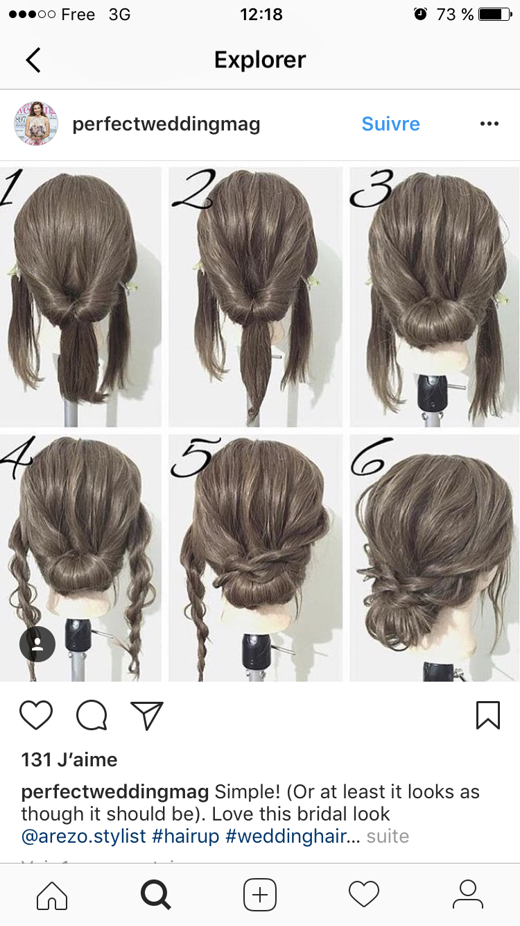 Pin by Rubi Valdez on Hair styles | Pinterest | Hair style, Easy ...