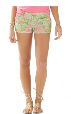 Walsh Short In Hot Wings, Resort White [pre-order Now For After 04-06] | The Pink Pelican