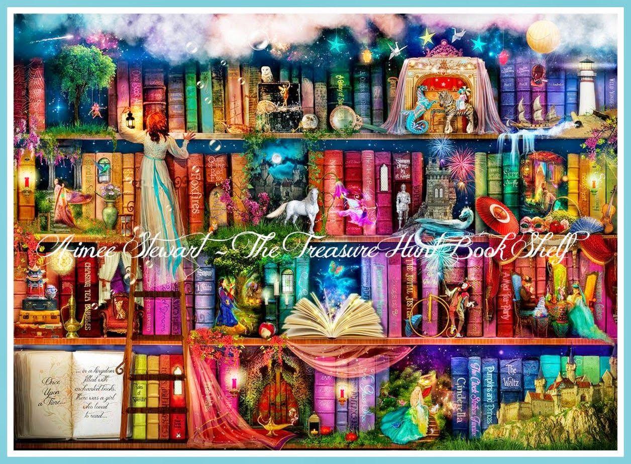Treasure Hunt Bookshelf Aimee Stewart Foxfires On DeviantArt Also HAED Item
