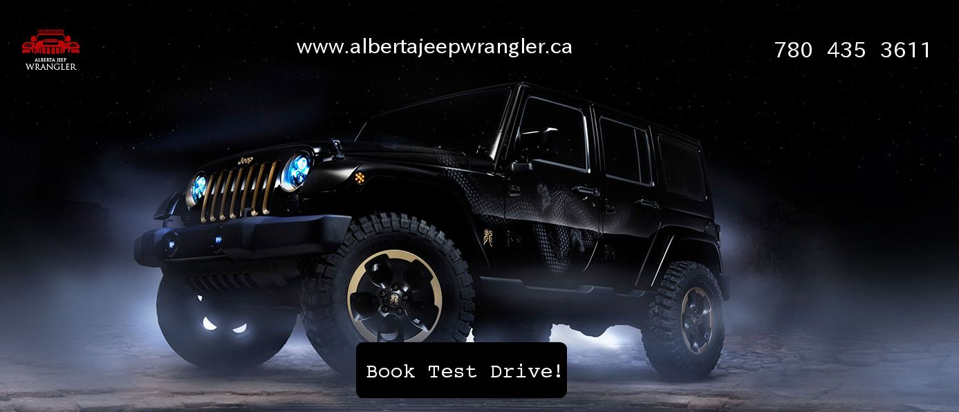 If you residing in Canada take a free test drive of new Jeep Wrangler. Call us 780-435-3611.
