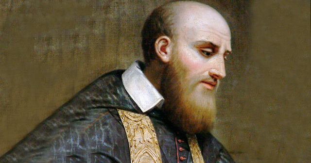 Saint Francis de Sales (1567-1622), Bishop of Geneva, and Doctor of the Church. His preaching brought thousands of Protestants back to the Catholic fold, and his writings on the spiritual life have proved highly influential. He is the patron of Journalists and Church Unity.
