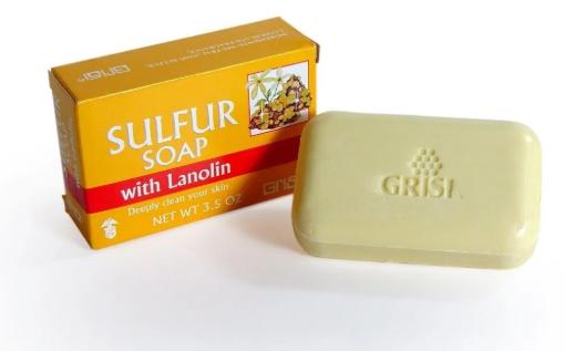 فوائد صابون الكبريت للوجة للتبييض وعلاح اثار الحبوب والتخلص من حب الشباب Soap Sulfur Soap Lanolin