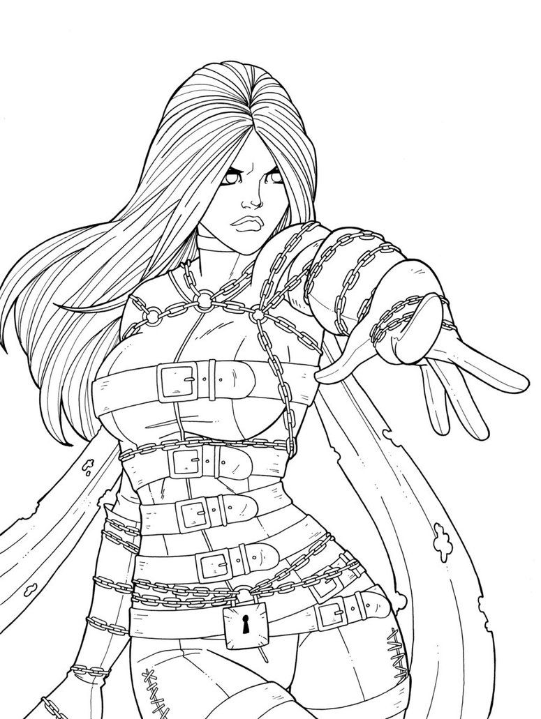 31++ Character coloring pages for adults info