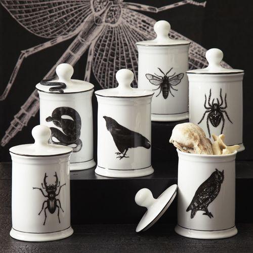 Curiosity Covered Jars Halloween Decor Pinterest Jar, House - halloween bathroom sets
