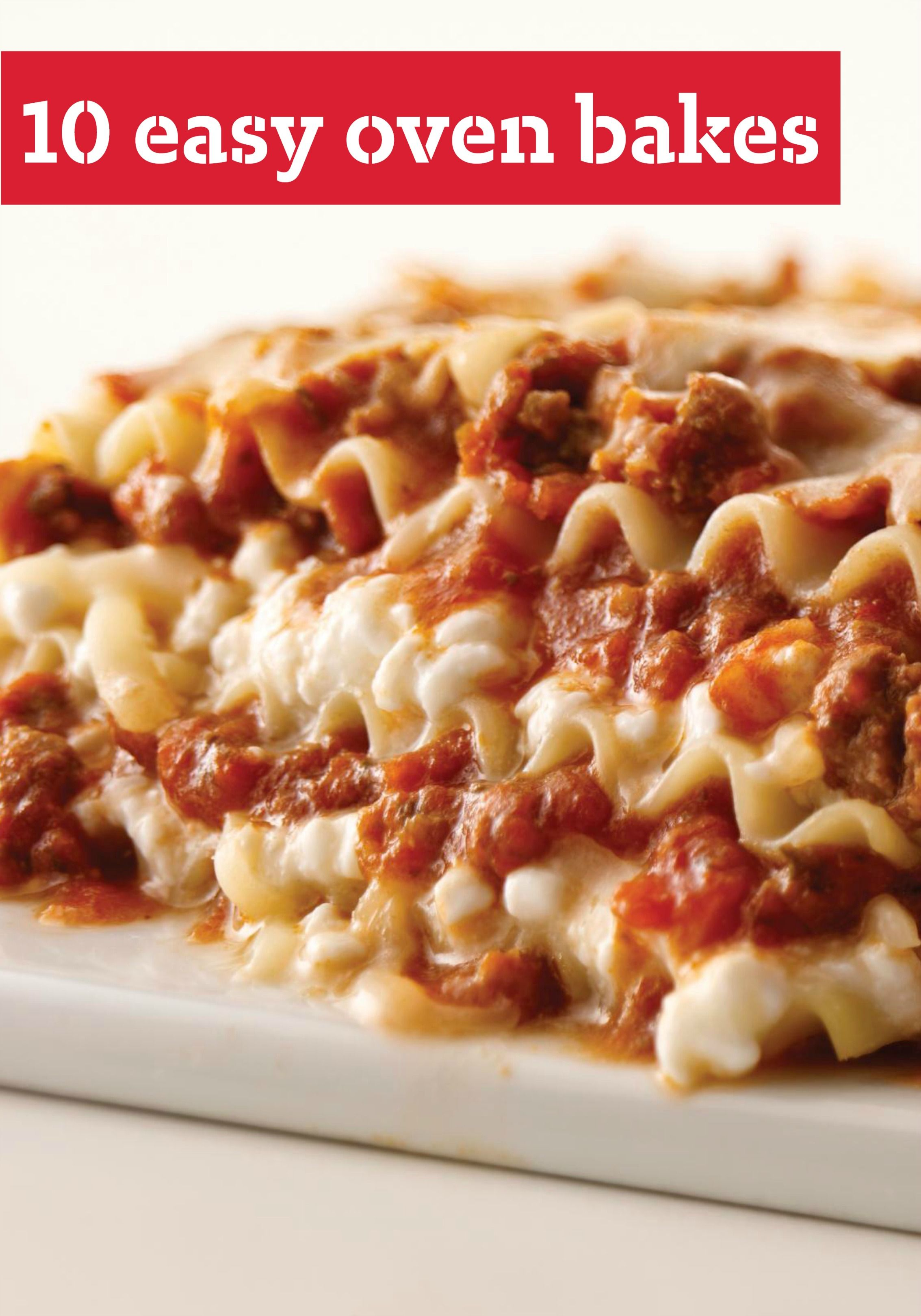 10 easy oven bakes you could make a casserole without cheese 13 easy oven bakes cheesy creamy gooey deliciousness is what a one dish bake is all about and every single one of these recipes delivers just that forumfinder Images