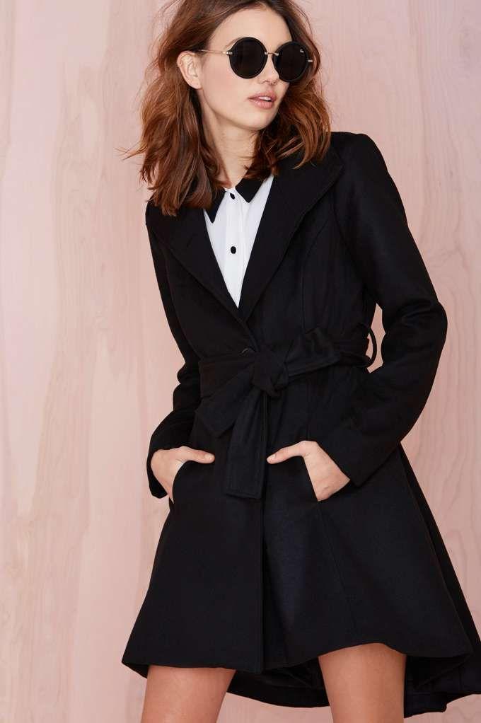 BB Dakota Galice Coat - Coats | Lena Dunham Is A Nasty Gal | Jackets + Coats | Indigo