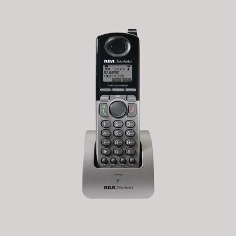 Telefield Rca Tc1200 1 4 Line Unison Phone System Accessory Handset Black Cordless Phone Line Phone Handset