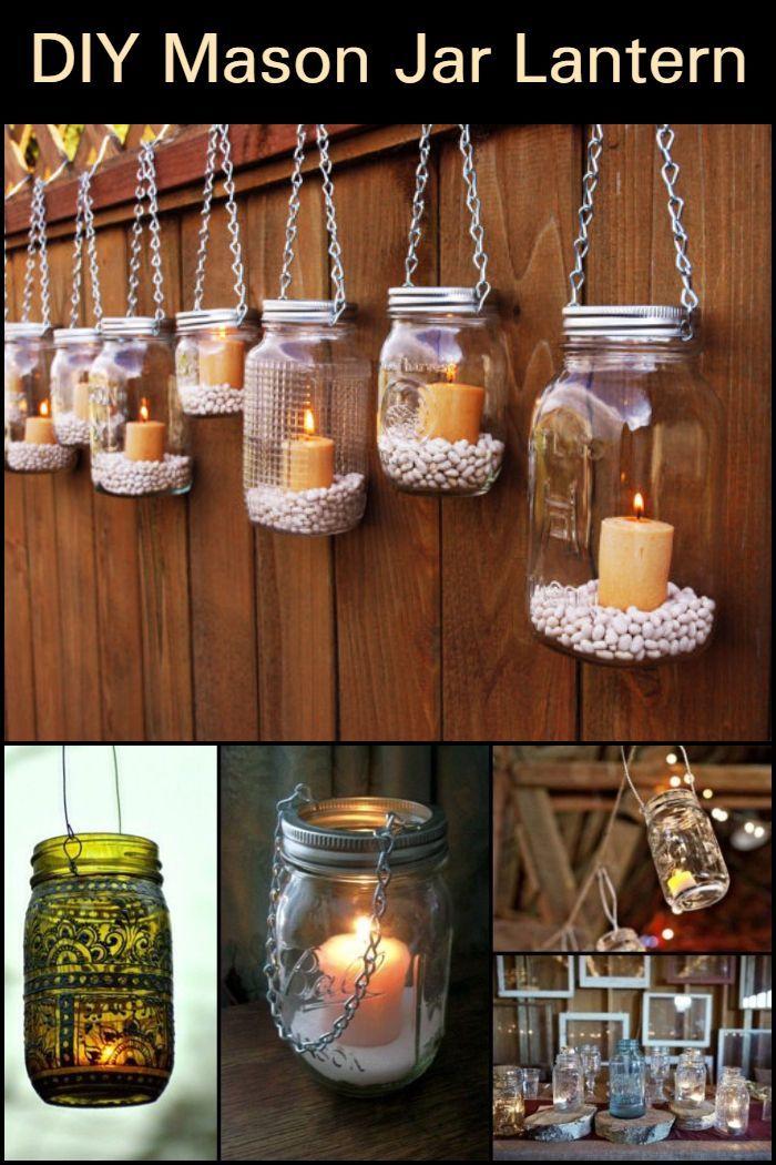 DIY Mason Jar Lantern images