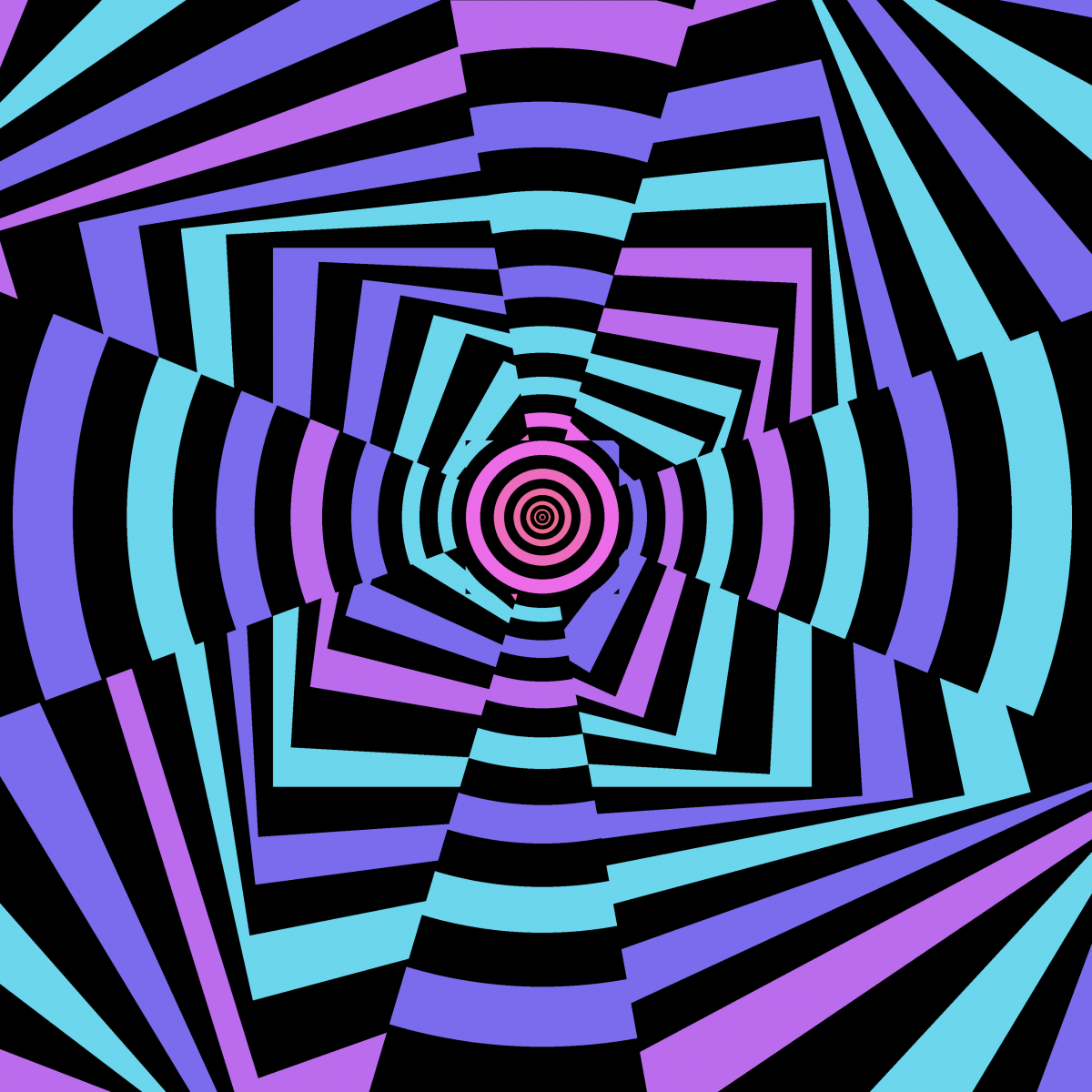 Spun Out Spiral | Illusions, Spin out, Optical illusions