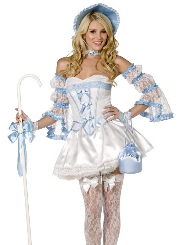 fever boutique bo peep 4 piece costume httpwwwgetiton - Goldilocks Halloween Costumes