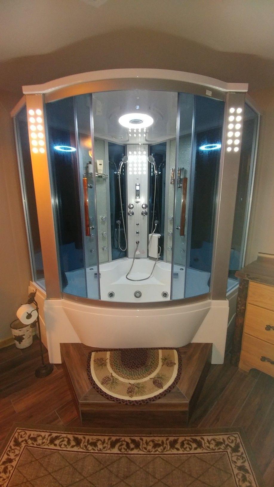 Ariel Ws 701 Steam Shower With Whirlpool Bathtub Our Master Bath