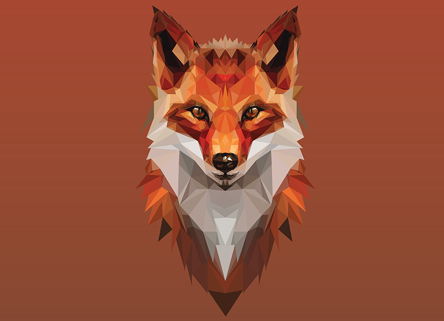 low poly fox Google Search Lion sculpture, Fox, Low poly