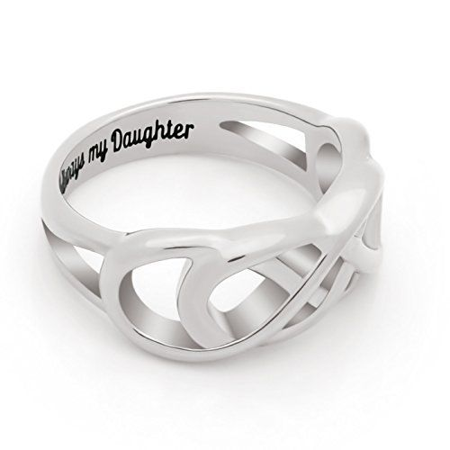 e39013c59bfcc EmmilySun Daughter Ring Double Infinity Ring Engraved on Inside