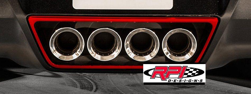 C7 Corvette Painted Exhaust Tips Trim Ring Trim Ring Corvette Corvette Accessories