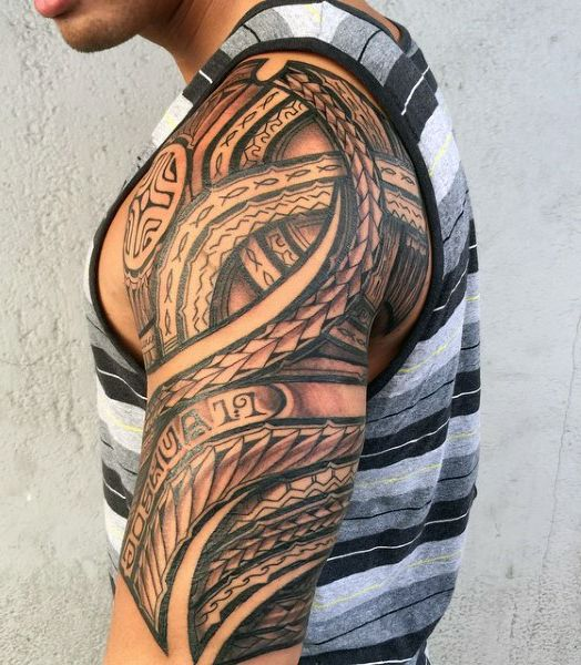 55 Best Maori Tattoo Designs Meanings: Custom Tattoo Design