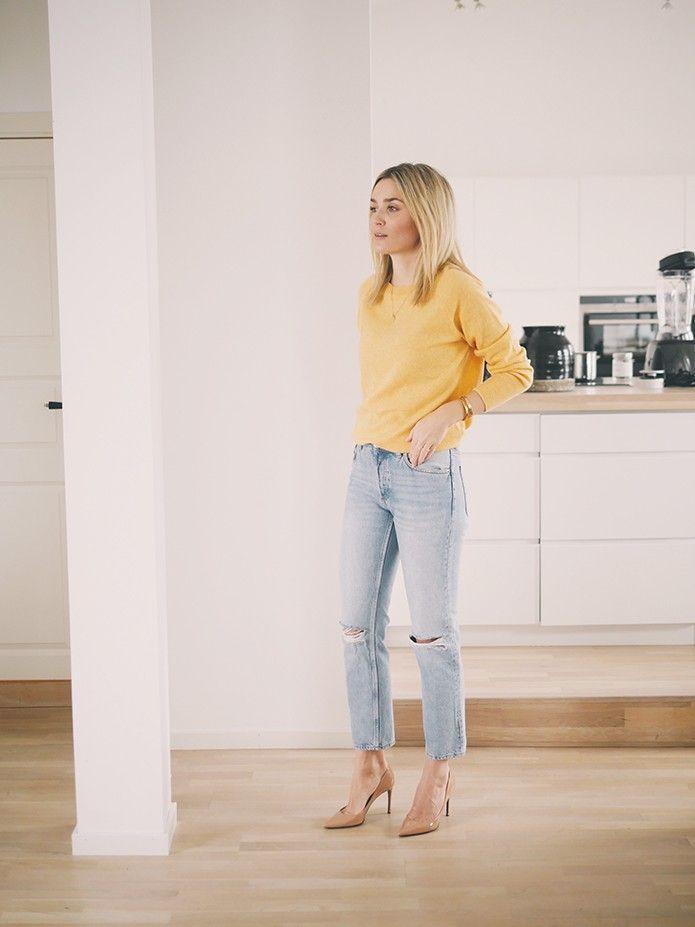 eaf7fde6 Lyse jeans og høye hæler - Camilla Pihl | spring style | Jeans ...