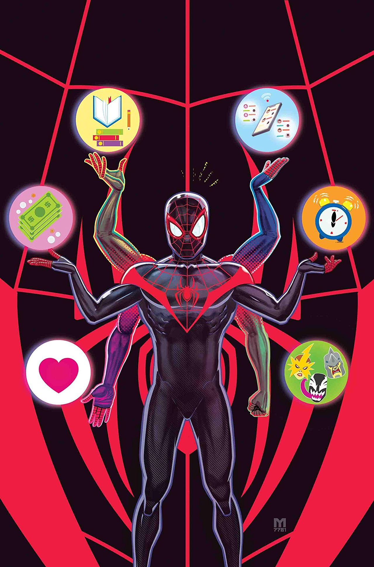 Miles morales spiderman 2018 2 spiderman spider