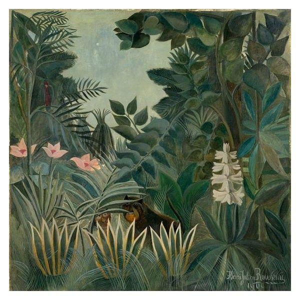 Henri Rousseau The Equatorial Jungle Fine Art Printposter 003548