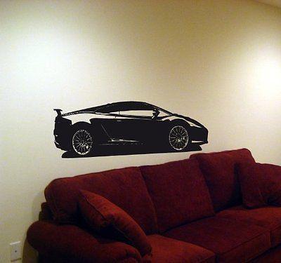 Lamborghini Gallardo Super Car Lambo Wall Art Sticker Decal 021