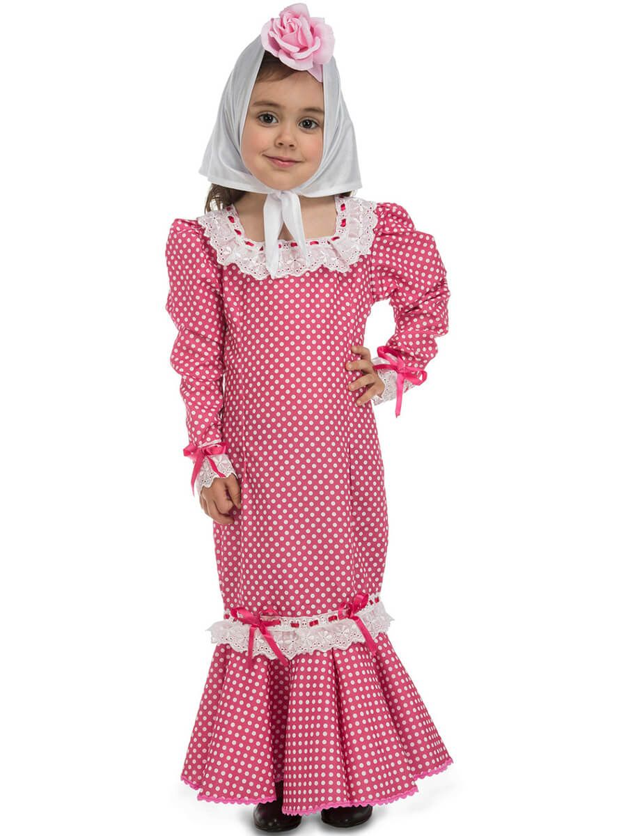 Disfraz de chulapa madrileña rosita para bebé | Para bebés, Bebé y Rosas