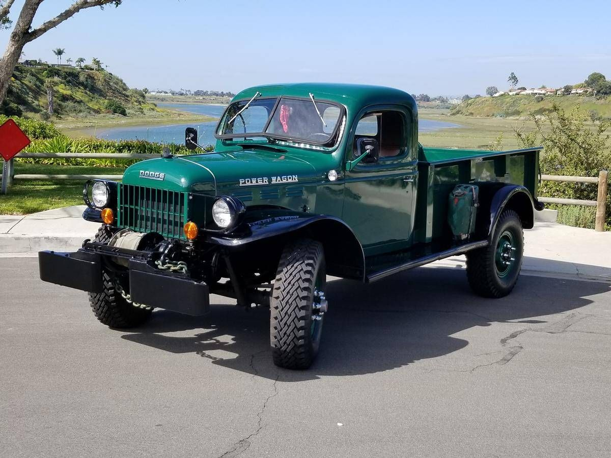 1950 Dodge Power Wagon For Sale 2317660 Hemmings Motor News In 2020 Power Wagon For Sale Power Wagon Dodge Power Wagon