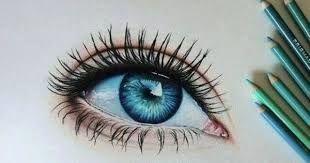 Resultado De Imagem Para Desenhos De Olhos Realistas Coloridos