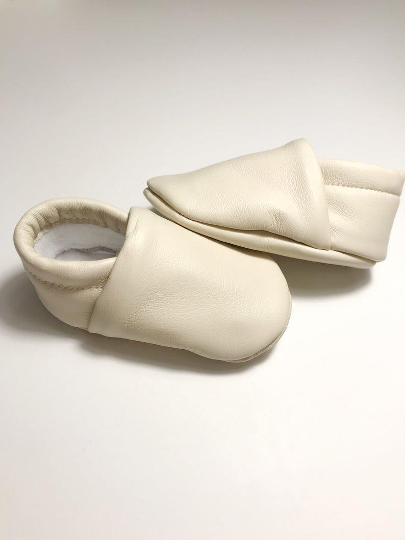 Italian Lambskin Leather Moccasins Baby