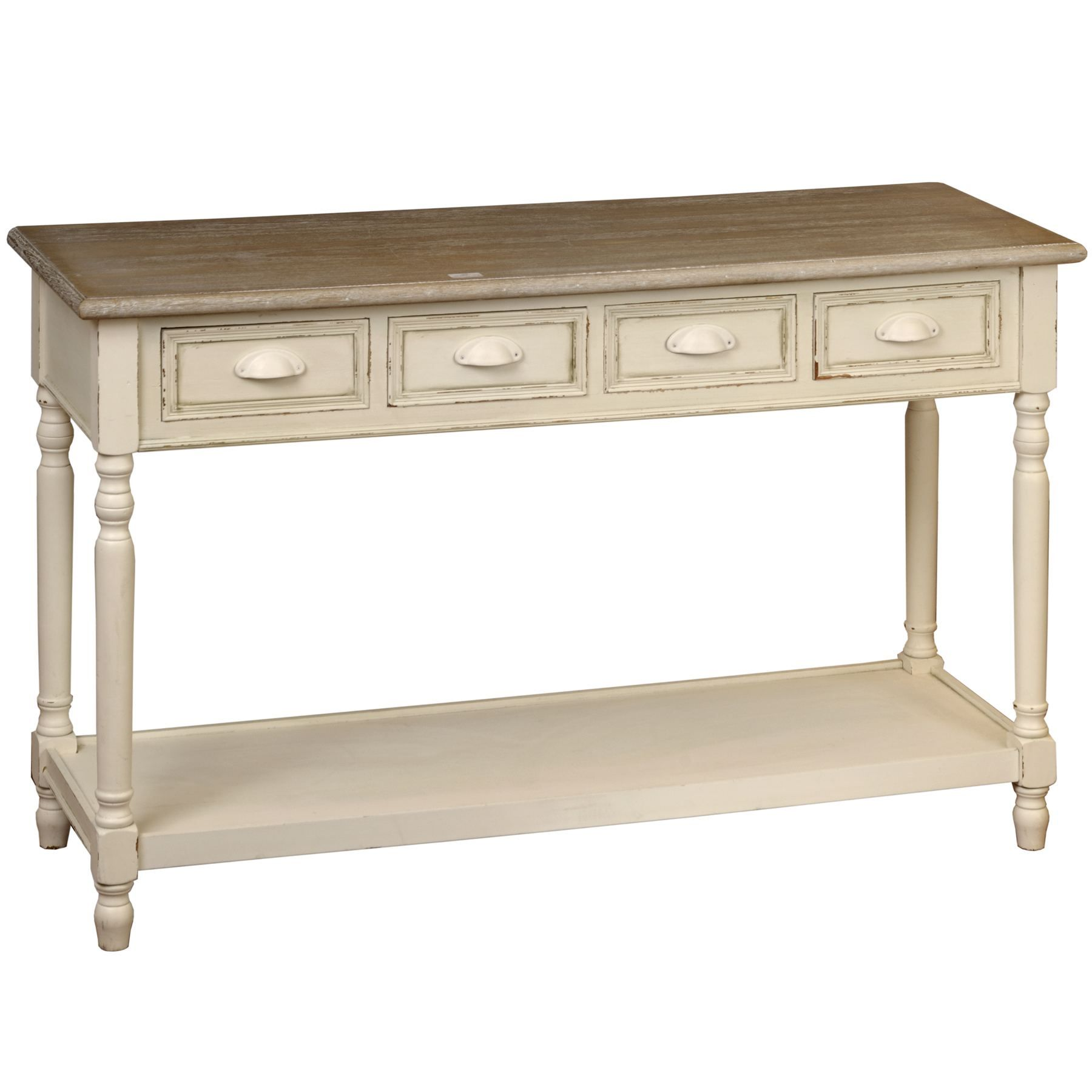 Country 4 Drawer Kitchen Server