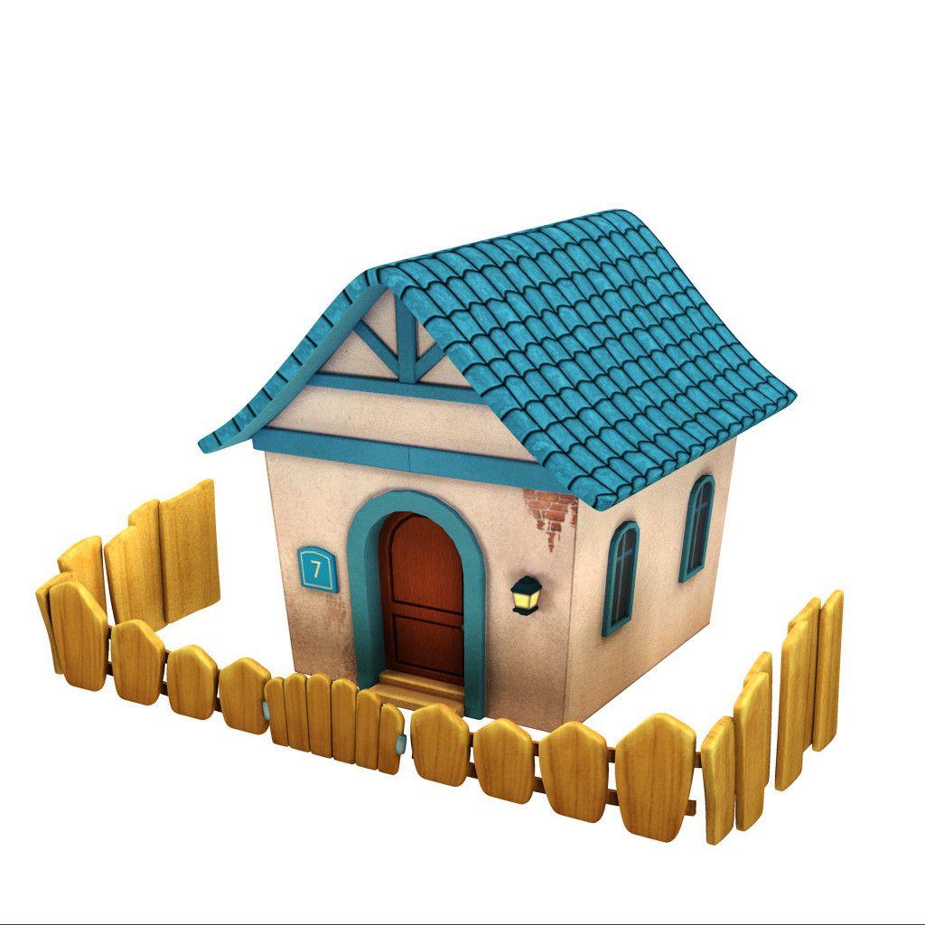 3D Model Of Cartoon Props - 3D Model | OFFSET Starhub