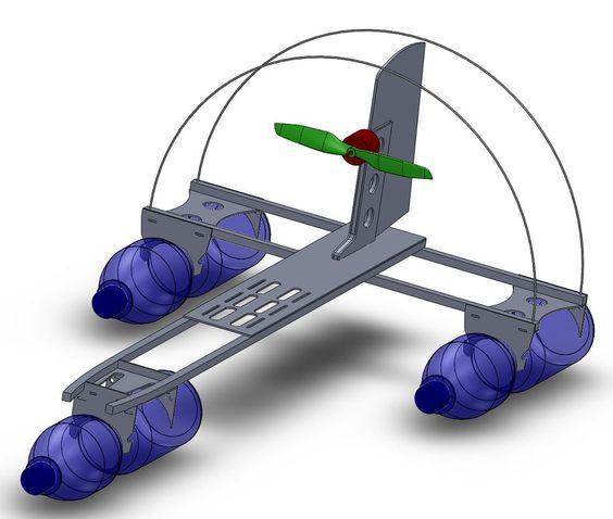 Bauplan RC-Schlitten Modellbauplan