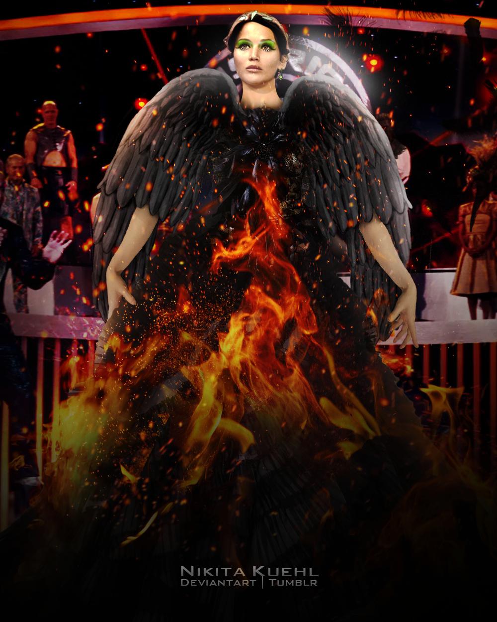 Katniss+Everdeen+Catching+Fire | Katniss Everdeen Catching Fire Wedding Dress Katniss everdeen catching