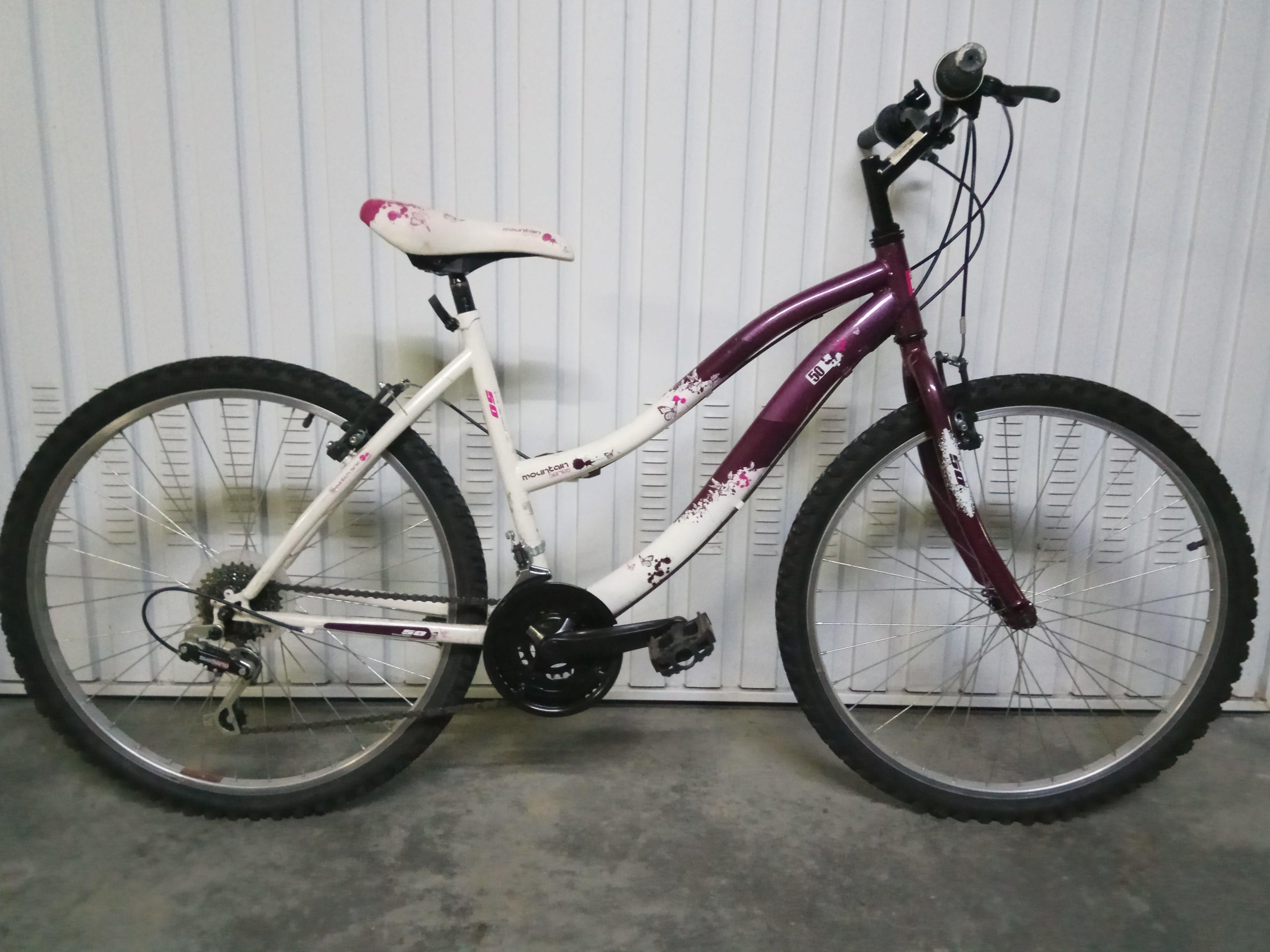 Bicicleta Femenina de Montaña 80€ MARCA: Mountain Series MODELO: 50 ...